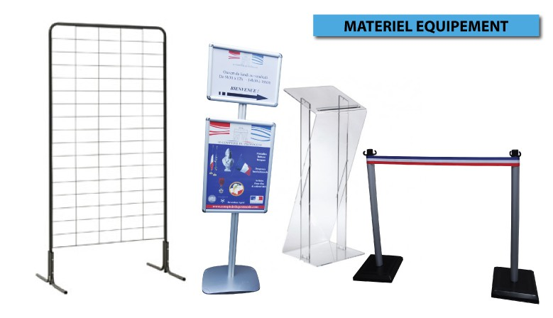 MATERIEL COLLECTIVITES